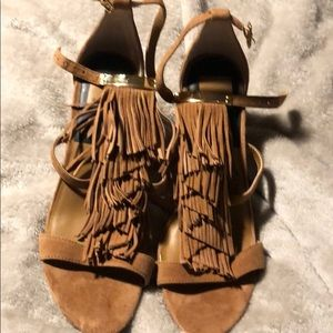 Dolce Vita size 9 Brand new NWT suede Fringe